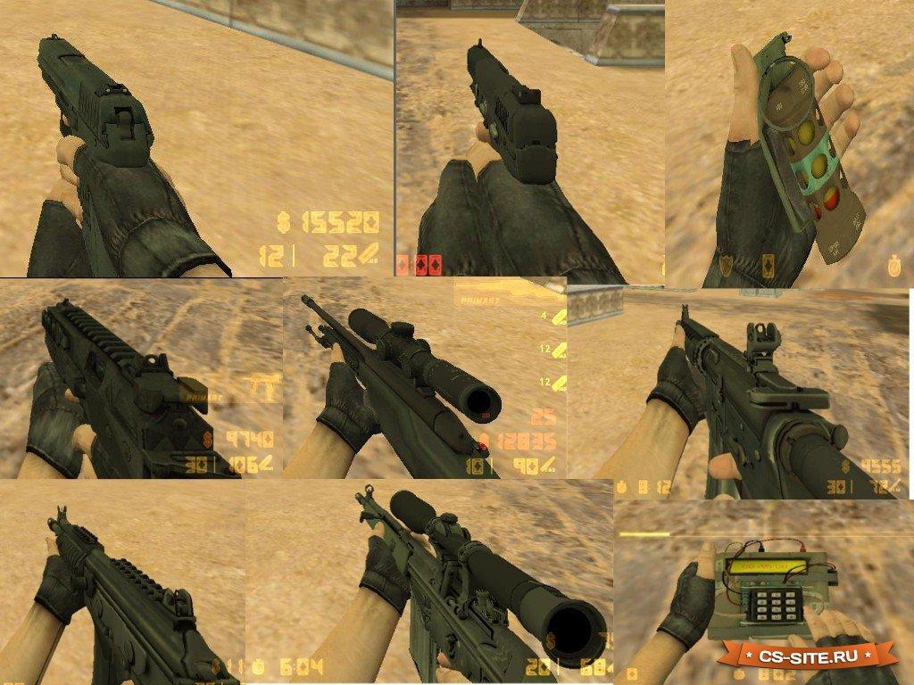 Модель оружия «awp | redline» из cs:go для cs 1. 6 youtube.