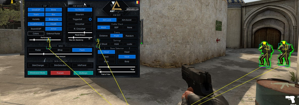 What are the cheats in CS GO