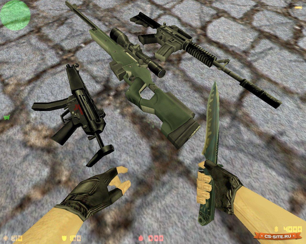 Модели на Оружие на Кс 1.6
