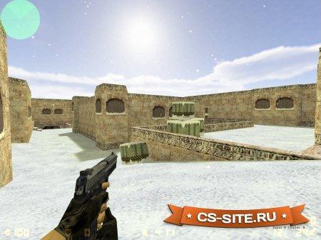 Карта De_Dust2_2x2_Snow для CS 1.6