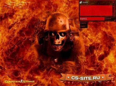 Тема меню «In Hell» для CS 1.6