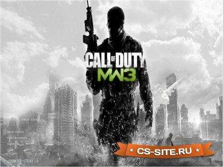 Тема меню «Call Of Duty MW3» для CS 1.6