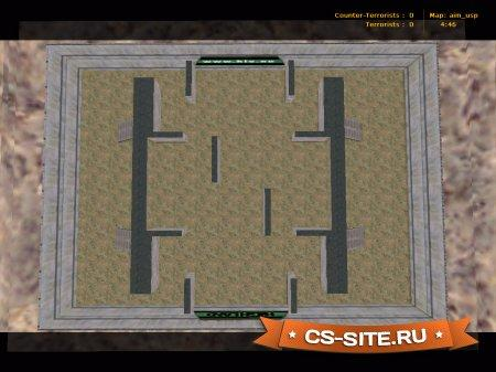 Карта Aim_Usp для CS 1.6