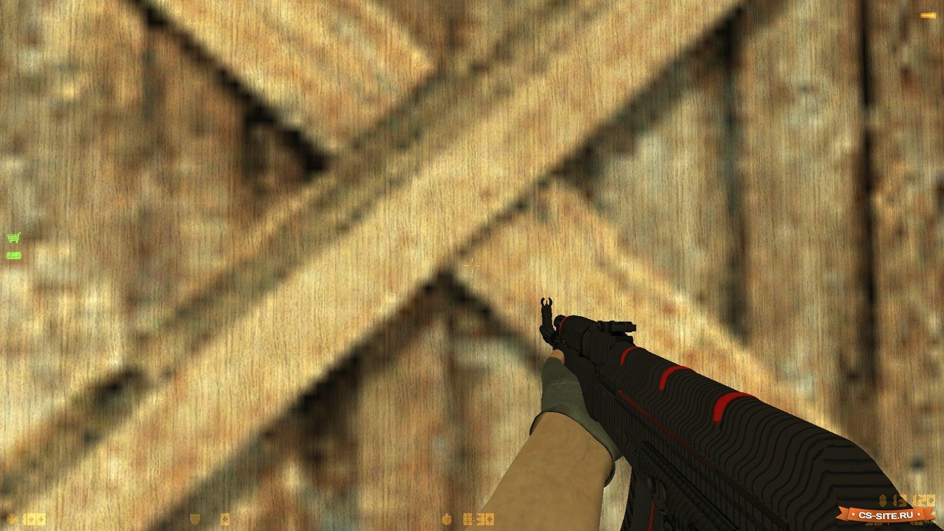 Модель ak-47 «redline — красная линия» для cs 1. 6 youtube.