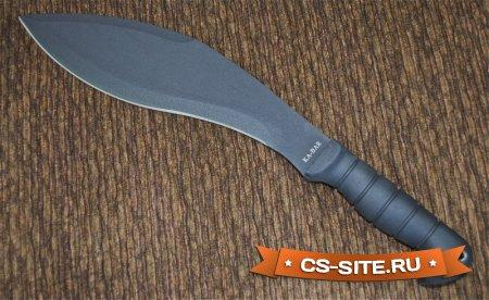 Модель ножа «Кукри мачете» для CS 1.6