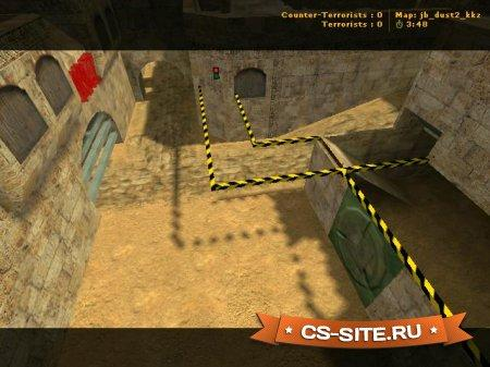 Карта Jail_Dust2_KKZ для CS 1.6