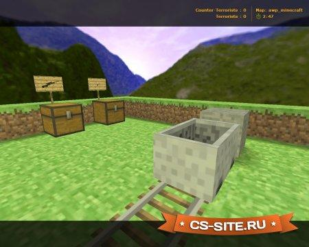 Карта Awp_Minecraft для CS 1.6