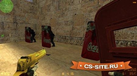 Модель щита «Coca-Cola» для CS 1.6