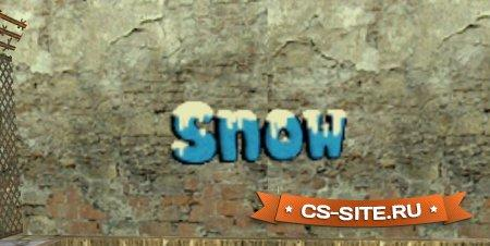 Логотип «Snow — Снег» для CS 1.6