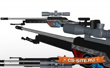Модель Scout «SSG 08 | CT-Power» для CS 1.6