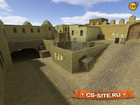 Карта De_Dust2 из CS:S для CS 1.6