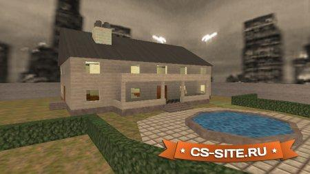 Карта Cs_Mansion для CS 1.6