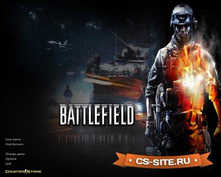 Тема меню «Battlefield 3» для CS 1.6