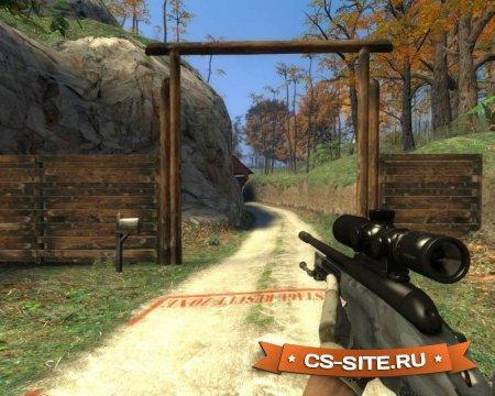 Модель Scout «SSG 08 из CS:GO» для CS:S