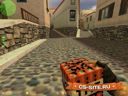 Модель взрывной гранаты «TNT» для CS 1.6