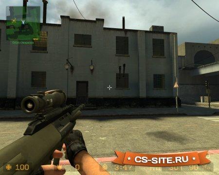 Модель AUG из CS:GO для CS:S