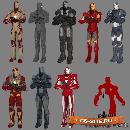 Сборка скинов «Железный человек» для CS:S