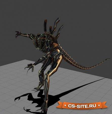 Скин зомби «Чужой» для CS:S