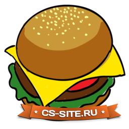 Логотип «Бургер» для CS 1.6