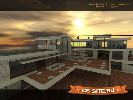 Карта Cs_Mansion2012 для CS 1.6