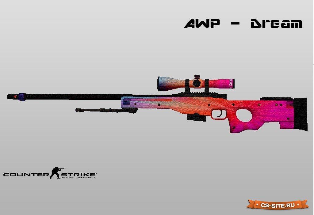 Скачать модель оружия cs go awp cyrex для counter strike 1. 6 на.