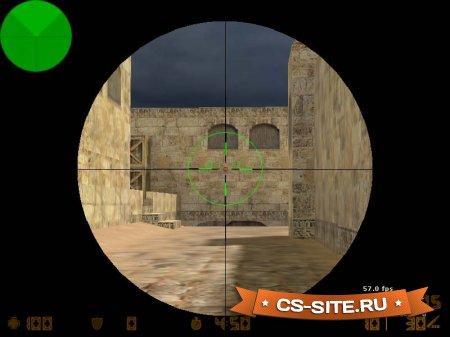 Снайперский прицел «Crusher» для CS 1.6