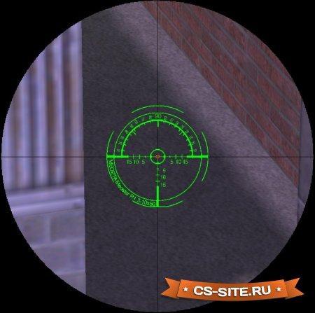 Снайперский прицел «Professional» для CS 1.6