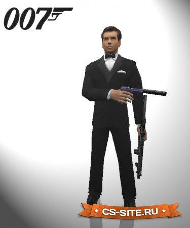 Модель игрока VIP «James Bond» для CS 1.6