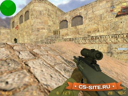 Модель AUG «Storm — Гроза» для CS 1.6