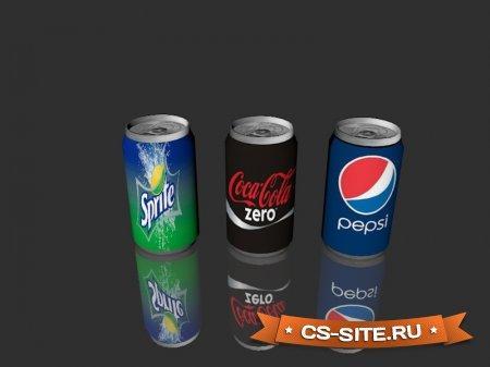 Модели гранат «Газированные напитки» для CS 1.6