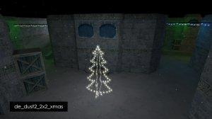 Карта De_Dust2_2x2_Xmas для CS 1.6