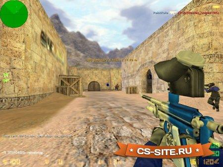 Мод «PaintBall Mod v1.1» для CS 1.6