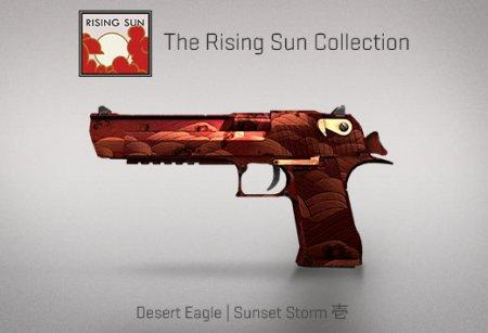 Модель Deagle «Sunset Storm» для CS 1.6