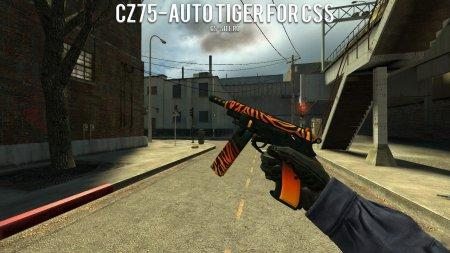 Модель CZ75-Auto «Тигр» для CSS
