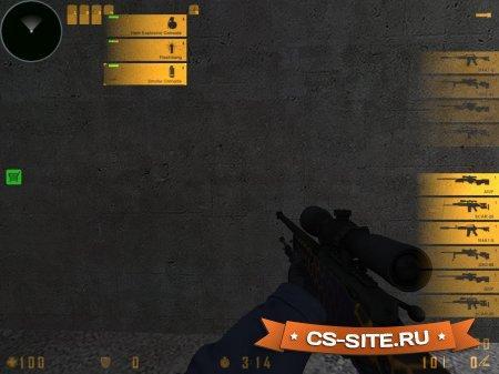 HUD (иконки) оружия из CS:GO для CS 1.6