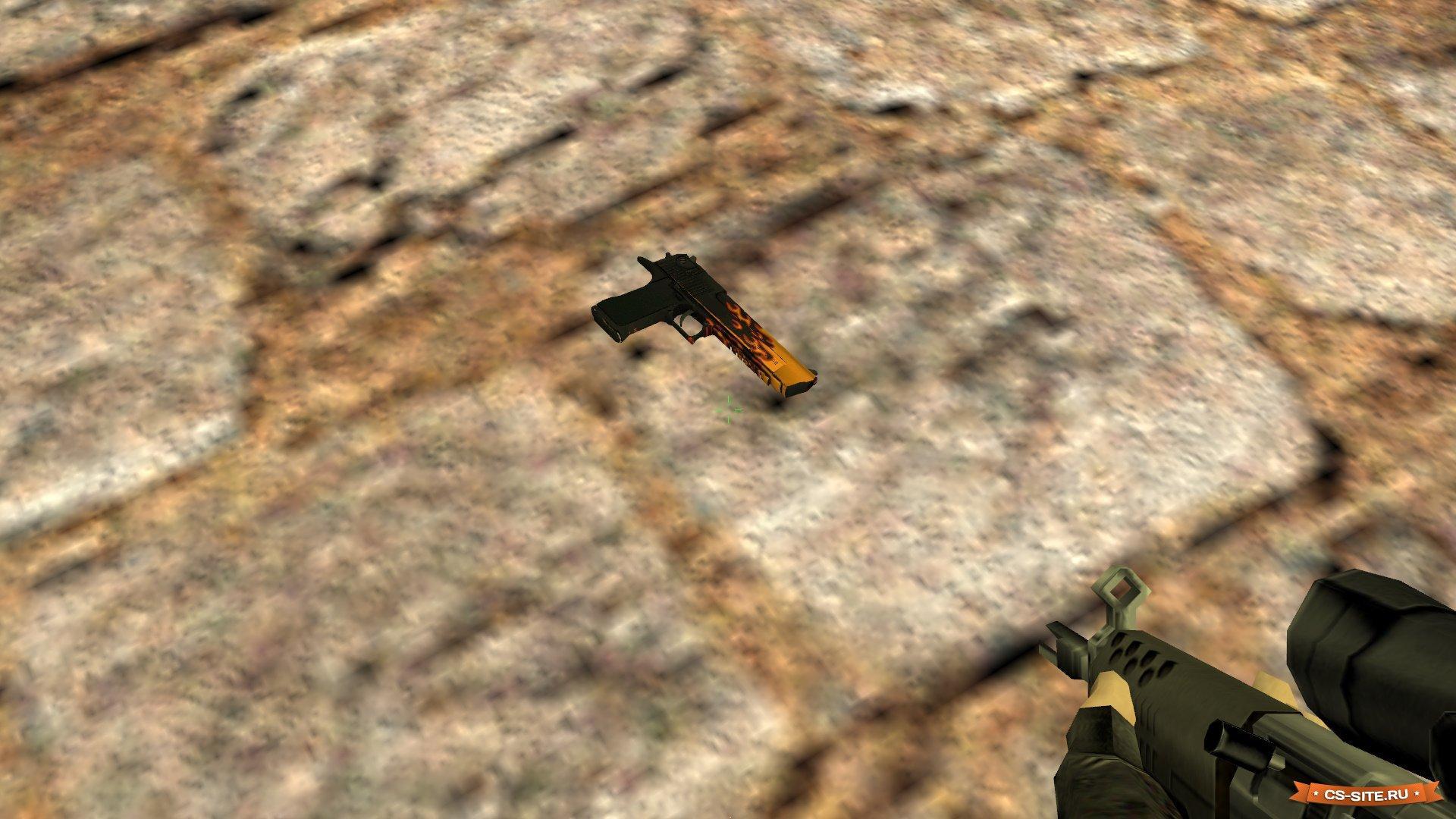 Скачать модель desert eagle wild fire deagle модели оружия.