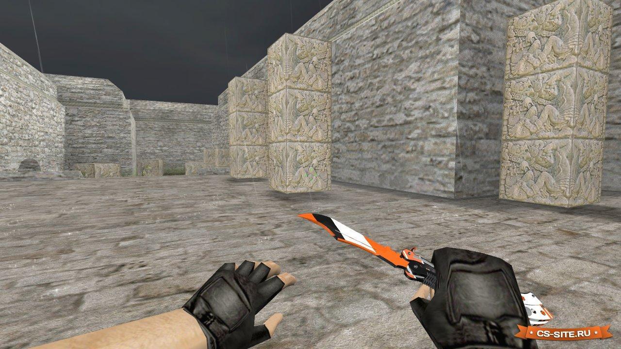 Модели оружия) ножи для counter-strike 1. 6 файлы для шутера.