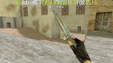Модель ножа «Bayonet | Case Hardened» для CS 1.6
