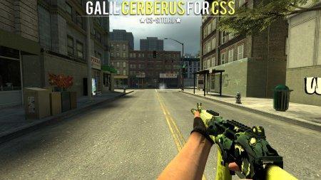 Модель Galil «Цербер» для CSS