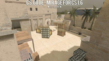 Карта De_Mirage из CS:GO для CS 1.6