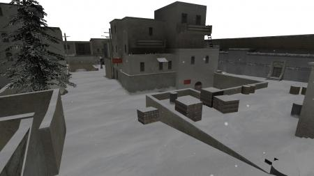 Карта De_Dust2Winter из CS:GO для CS 1.6