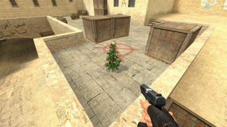 Модель бомбы «Новогодняя ёлочка» для CSS