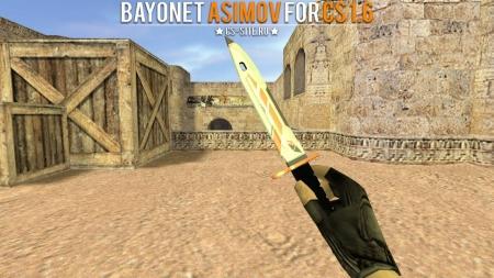 Модель ножа «Bayonet   Asimov» для CS 1.6
