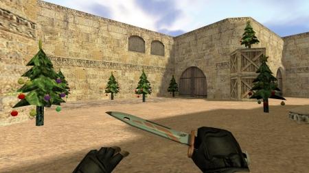 Плагин «Tree Spawner — Новогодние елки» для CS 1.6