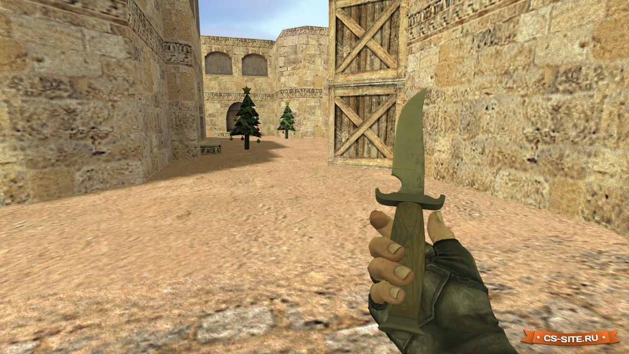 Скачать классический нож в левой руке для cs 1. 6. 14 september.