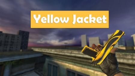 Модель Deagle «Yellow Jacket» для CSS