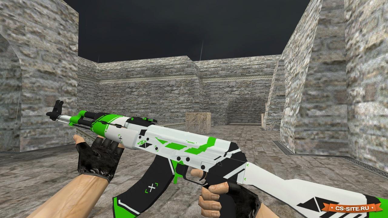 Модели оружия для кс 1.6 ak 47