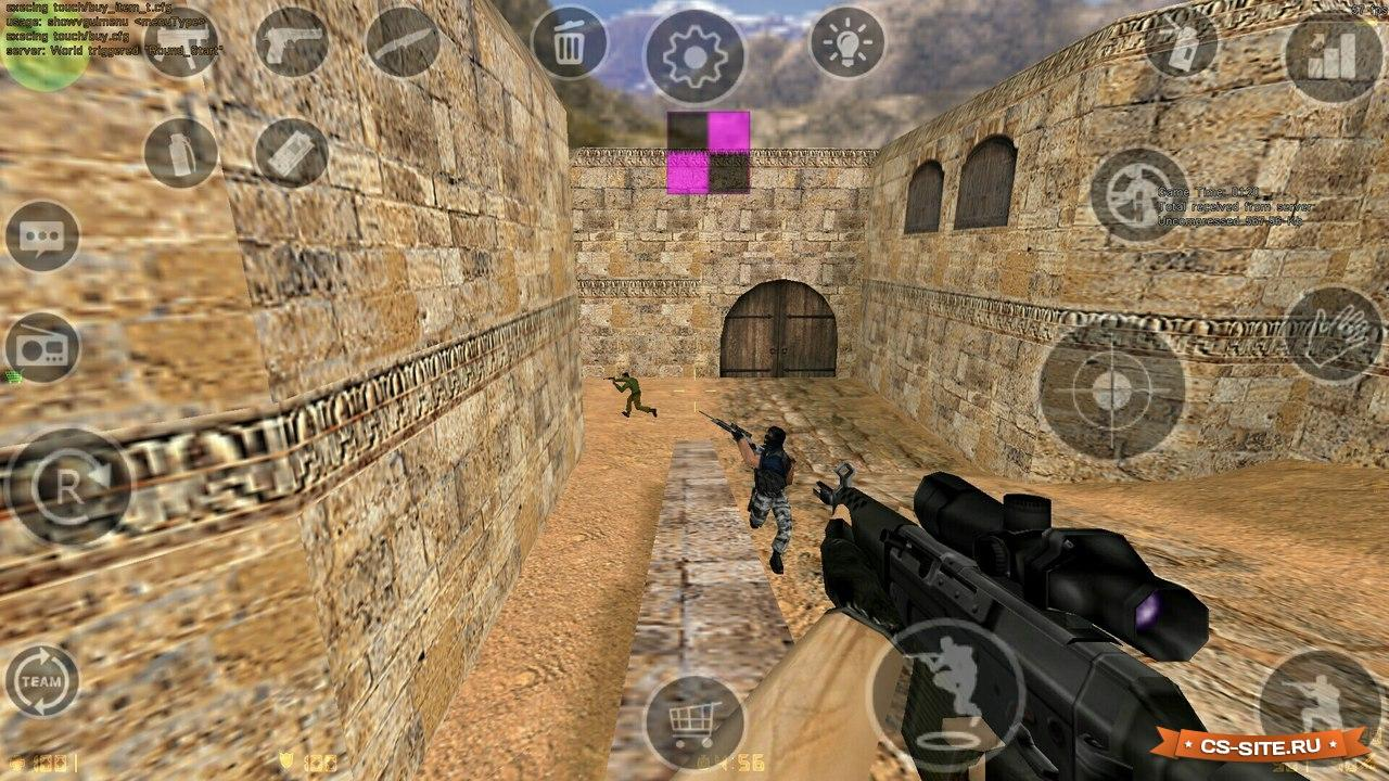 Counter strike 1. 6 android gameplay youtube.