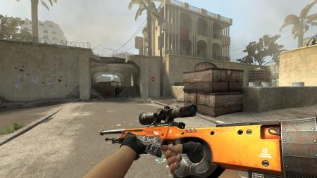 Модель AWP «Annihilator Orange» для CSS