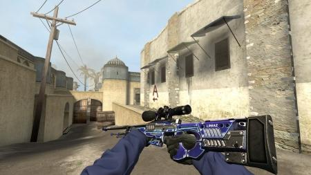 Модель AWP «Suppressed Power: Purple» для CSS